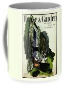 A House And Garden Cover Of A Living Room Coffee Mug