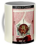A House And Garden Cover Of A Mirror Coffee Mug