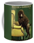 A House And Garden Cover Of A Poodle Coffee Mug