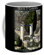 A House And Garden Cover Of A Well Coffee Mug