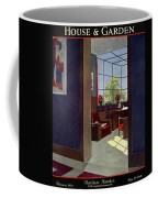 A House And Garden Cover Of An Interior Coffee Mug