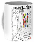 A House And Garden Cover Of Color Swatches Coffee Mug