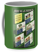 A House And Garden Cover Of Floorplans Coffee Mug