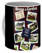 A House And Garden Cover Of Houses Coffee Mug