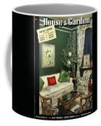 A House And Garden Cover Of Lady Mendl's Sitting Coffee Mug