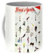 A House And Garden Cover Of People And Household Coffee Mug