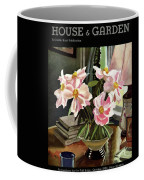 A House And Garden Cover Of Rhododendrons Coffee Mug