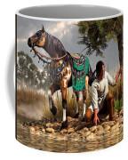 A Hunter And His Horse Coffee Mug