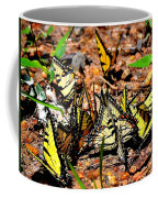 A Kaleidoscope Of Butterflies Coffee Mug