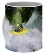 A Kayaker Running A Beautiful Spirit Coffee Mug