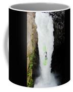A Kayaker Takes The Plunge On Huge Coffee Mug
