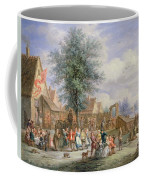 A Kermesse On St. Georges Day Coffee Mug by Angel-Alexio Michaut