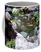 A Koi Pond For Outdoor Garden Coffee Mug
