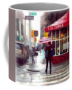 A La Turka In The Rain - Restaurants Of New York Coffee Mug
