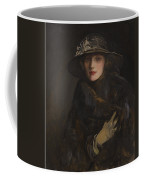 A Lady In Brown Coffee Mug