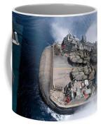A Landing Craft Air Cushion Enters Teh Coffee Mug