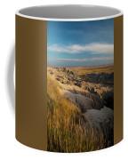 A Landscape Image Of Badlands National Coffee Mug