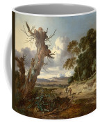 A Landscape With Two Dead Trees Coffee Mug
