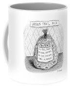 A Large Bag Is Centered In This Picture Coffee Mug by Roz Chast