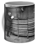 A Lawyer In His Library Coffee Mug