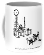 A Lawyer Says To Her Client Coffee Mug