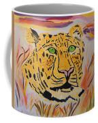 A Leopard's Gaze Coffee Mug