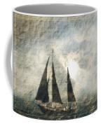 A Light Through The Storm - Sailing Coffee Mug