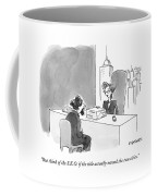 A Literary Agent Talks To Charles Dickens Coffee Mug