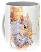 A Little Bit Squirrely Coffee Mug