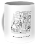 A Little Boy Speaks To His Parents Coffee Mug