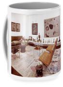 A Living Room Full Of Art Coffee Mug