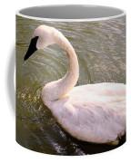 A Lone Swan Named Gracie Coffee Mug