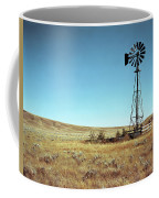 A Lone Windmill Stands On The Canadian Coffee Mug