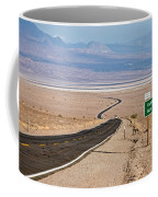 A Long Road Through Death Valley Coffee Mug