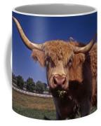 A Lot A Bull Coffee Mug by Skip Willits