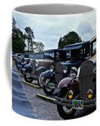 A Lot Of Classic Cars Coffee Mug