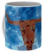 A Lucky Bull Coffee Mug
