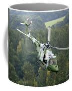 A Lynx Mk 7 Helicopter Coffee Mug