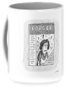 A Magazine Titled Google Magazine Coffee Mug