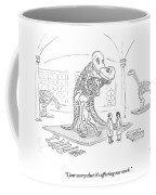 A Male And Female Paleontologist Coffee Mug