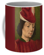 A Male Figure Perhaps Saint Sebastian A Coffee Mug