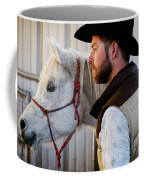 A Male Ranch Hand In A Cowboy Hat Coffee Mug