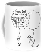 A Man And A Woman Coffee Mug