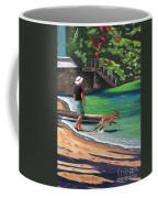 A Man And His Dog Coffee Mug