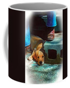 A Man And His Dog Oil Coffee Mug