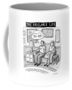A Man And Woman Sit On A Couch In Their Living Coffee Mug