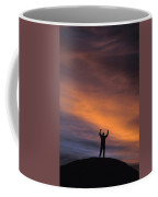 A Man In Lone Pine, California Coffee Mug