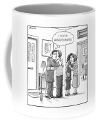 A Man Thinks Coffee Mug