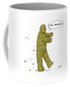 A Man Whose Body Is Covered Every Inch Coffee Mug by Carolita Johnson