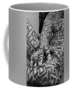 A Maze Ing Man 4 Black And White Coffee Mug